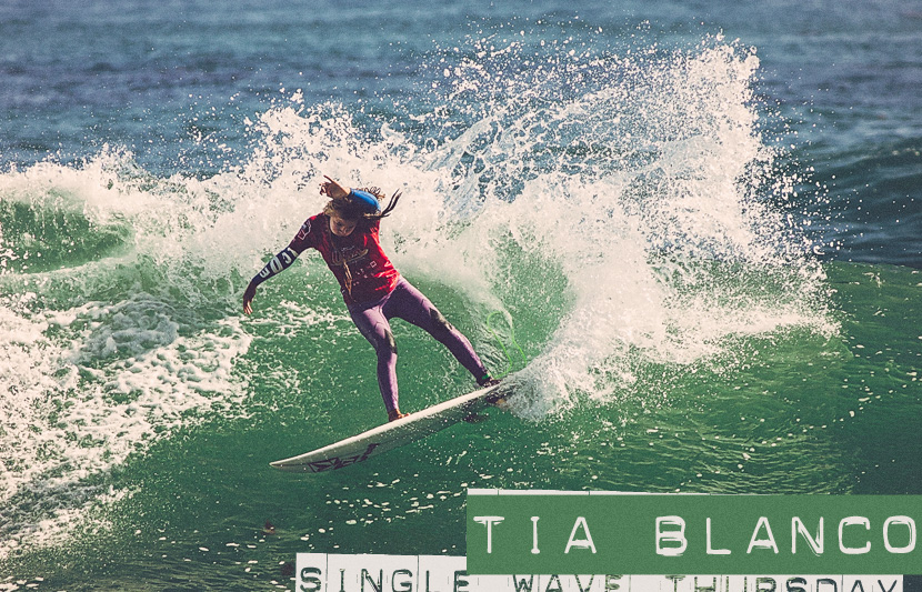 Single Wave Thursday featuring Tia Blanco on Jettygirl Online Surf Magazine