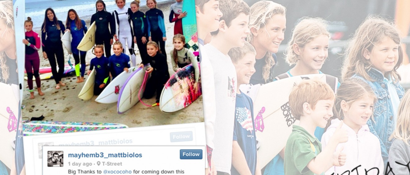 Surf Photo Friday - role models - Jettygirl Online Surf Magazine