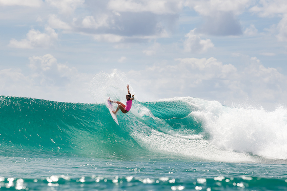 Coco Ho, Hawaii, will be a top seed at the ASP 6-Star Los Cabos Open of Surf. Photo © ASP / CESTARI