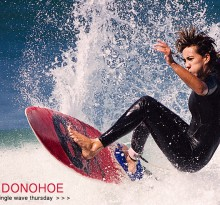 Single Wave Thursday featuring Amee Donohoe on Jettygirl Online Surf Magazine. One ride, no music, just surfing.