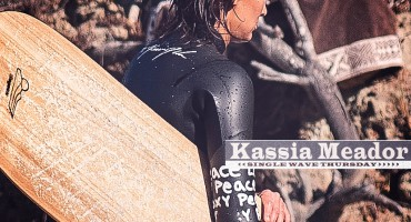 Single Wave Thursday featuring Kassia Meador on Jettygirl Online Surf Magazine