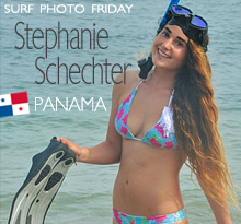 Surf Photo Friday featuring Stephanie Schechter on Jettygirl Online Surf Magazine