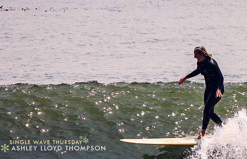 Single Wave Thursday featuring Ashley Lloyd Thompson on Jettygirl Online Surf Magazine.