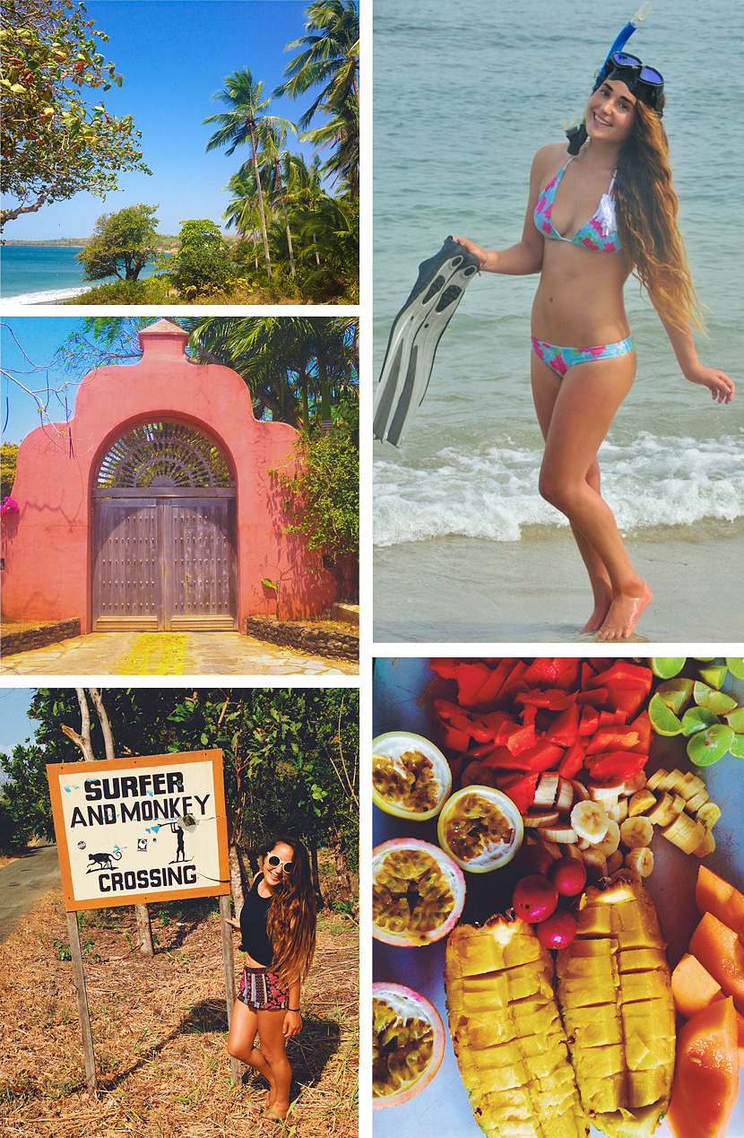 Scenes from a Panama surf trip with Stephanie Schechter. Surf Photo Friday on Jettygirl.