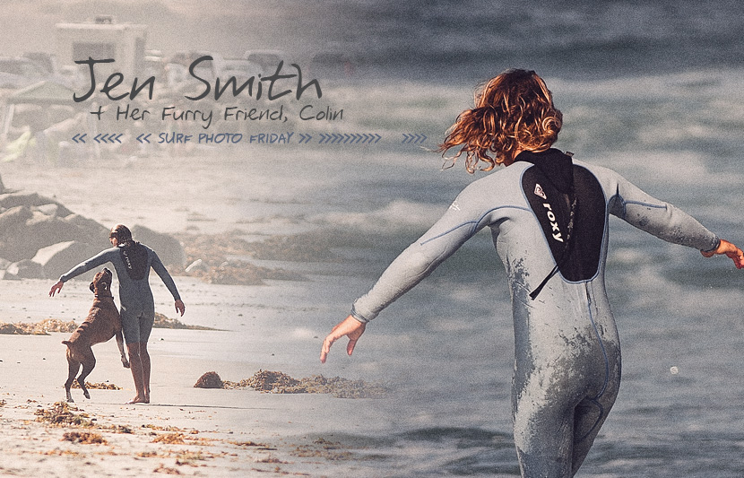 2-time ASP Women's World Longboard Champion, Jen Smith, in Surf Photo Friday on Jettygirl Online Surf Magazine