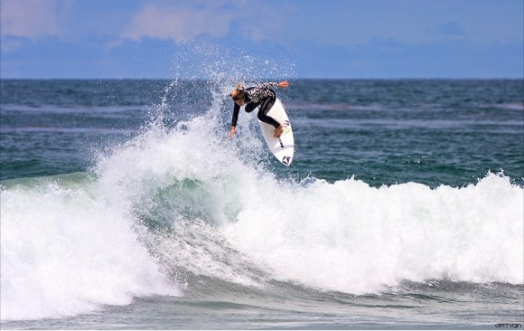 Claire Bevilacqua backside air. Chris Grant photo for Jettygirl Surf Magazine and Lifestyle Photo Blog.