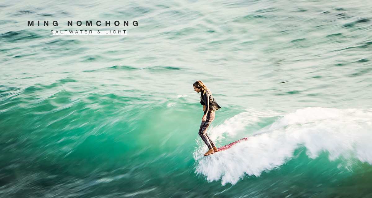 Ming Nomchong surf photo of Lauren Hill - JettyGirl's Saltwater & Light Series