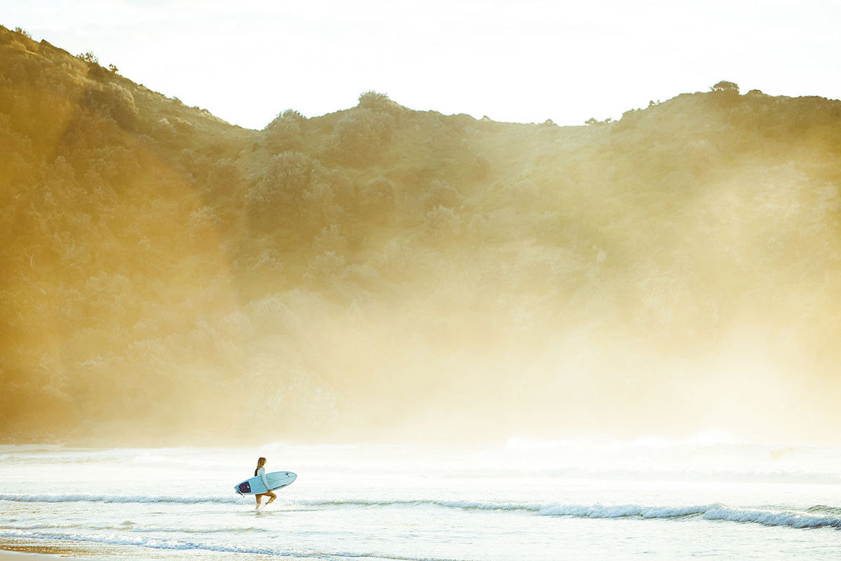 Unknown Surfer, Far North Coast NSW - Photo by Ming Nomchong, The Drifter Blog