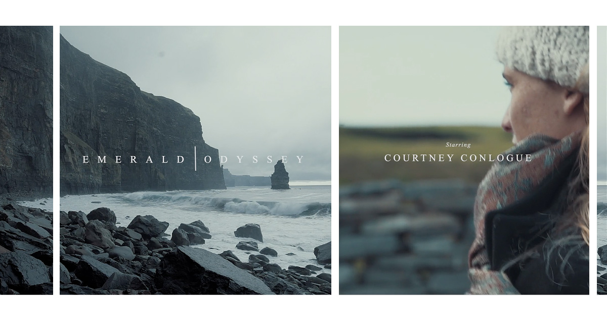Courtney Conlogue, Emerald Odyssey, an Irish surf film by Dillon Chang