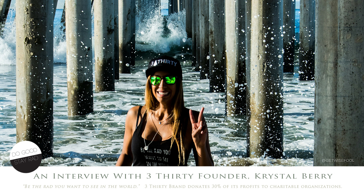 Interview with Krystal Berry, the founder of the 3 Thirty brand. Photo by @getwisefool