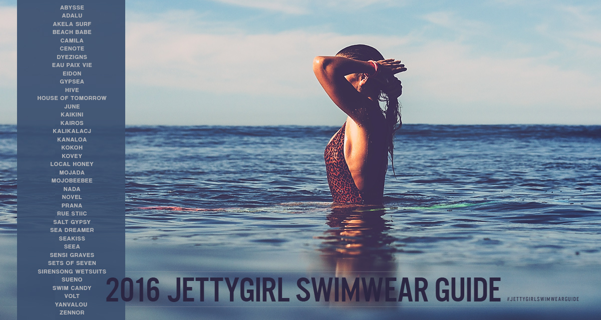 2016 JettyGirl Swimwear Guide