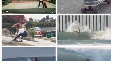 "Frame grabs of Courtney Conlogue in ""Courtney On Board"" presented by Carver Skateboards"