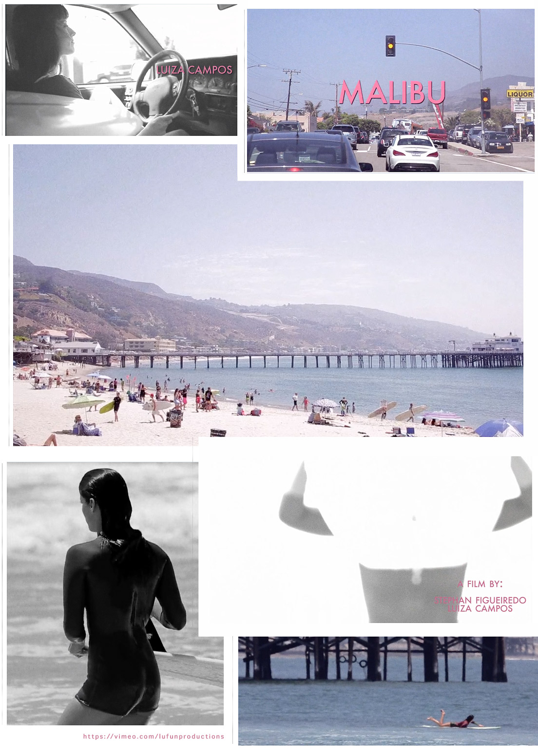 Luiza Campos frame grabs from The Golden State Series - Malibu by L/F Productions