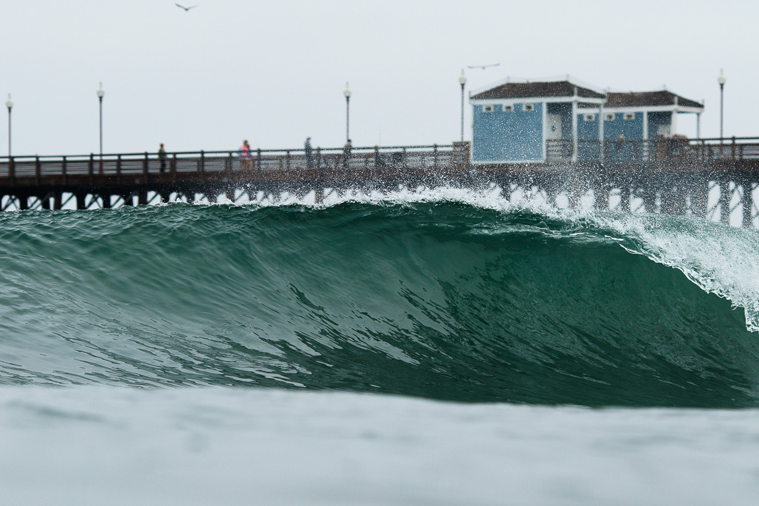 Oceanside Pier - Cyber Monday Coupon Codes and Surf Shop Discounts - Photo by Chris Grant Photo, JettyGirl Online Surf Magazine