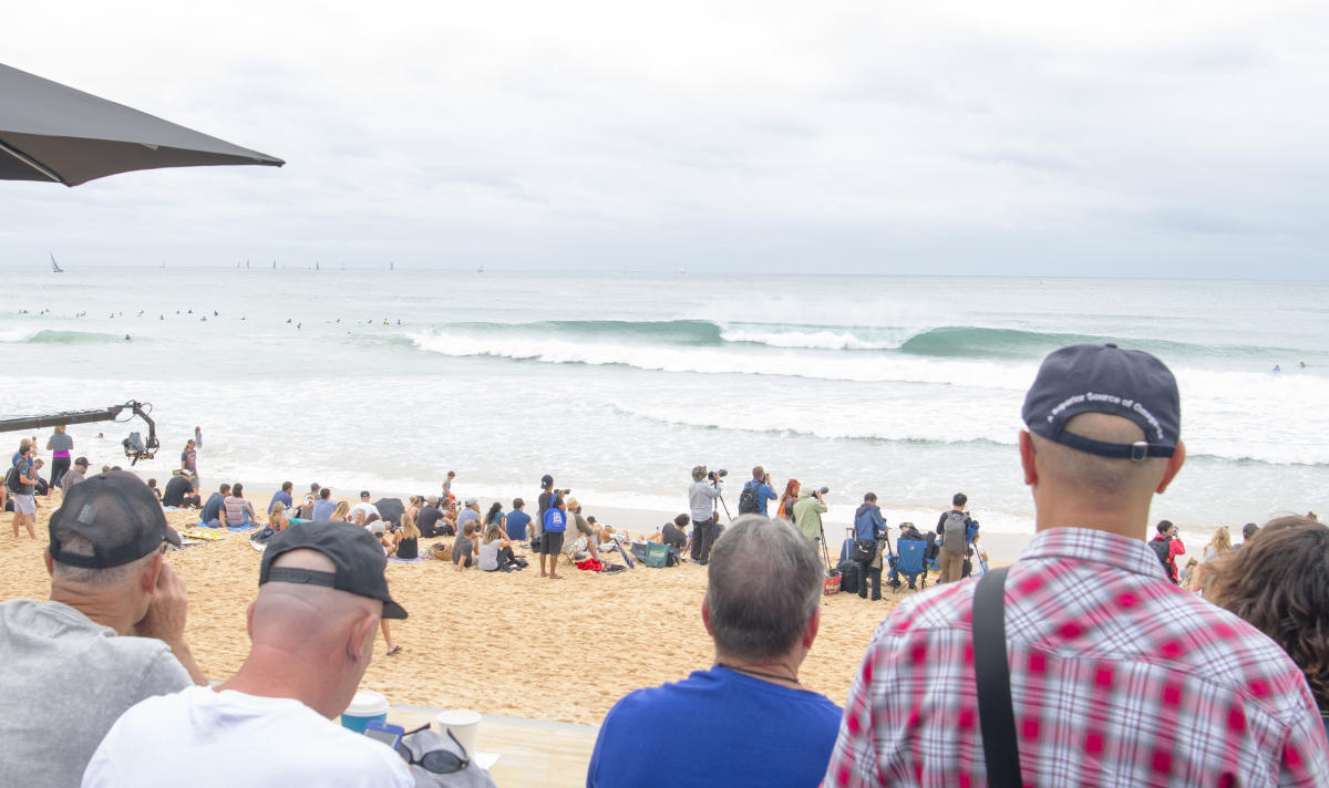 Manly Beach. Photo: WSL / Tom Bennett
