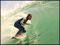 sara taylor barreled in newport beach